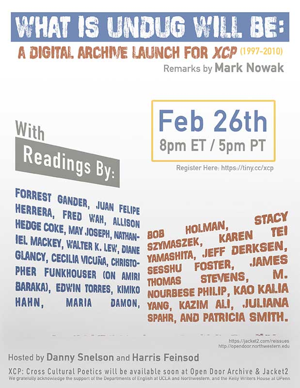 What is Undug Will Be (XCP Launch) Event Poster