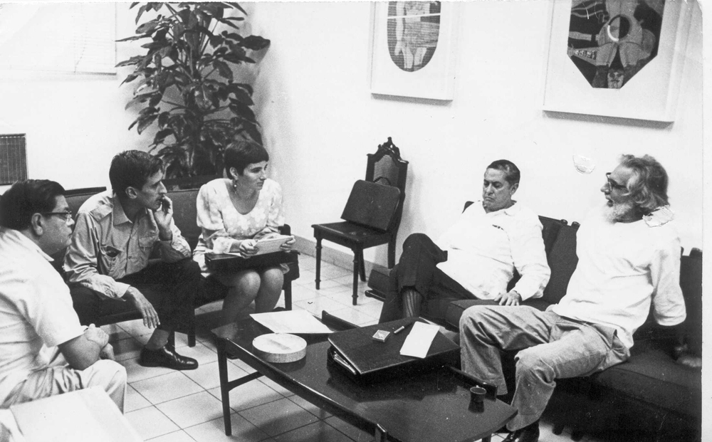 CasadelasAméricasPoetry PrizeJury (Havana, 1970)
