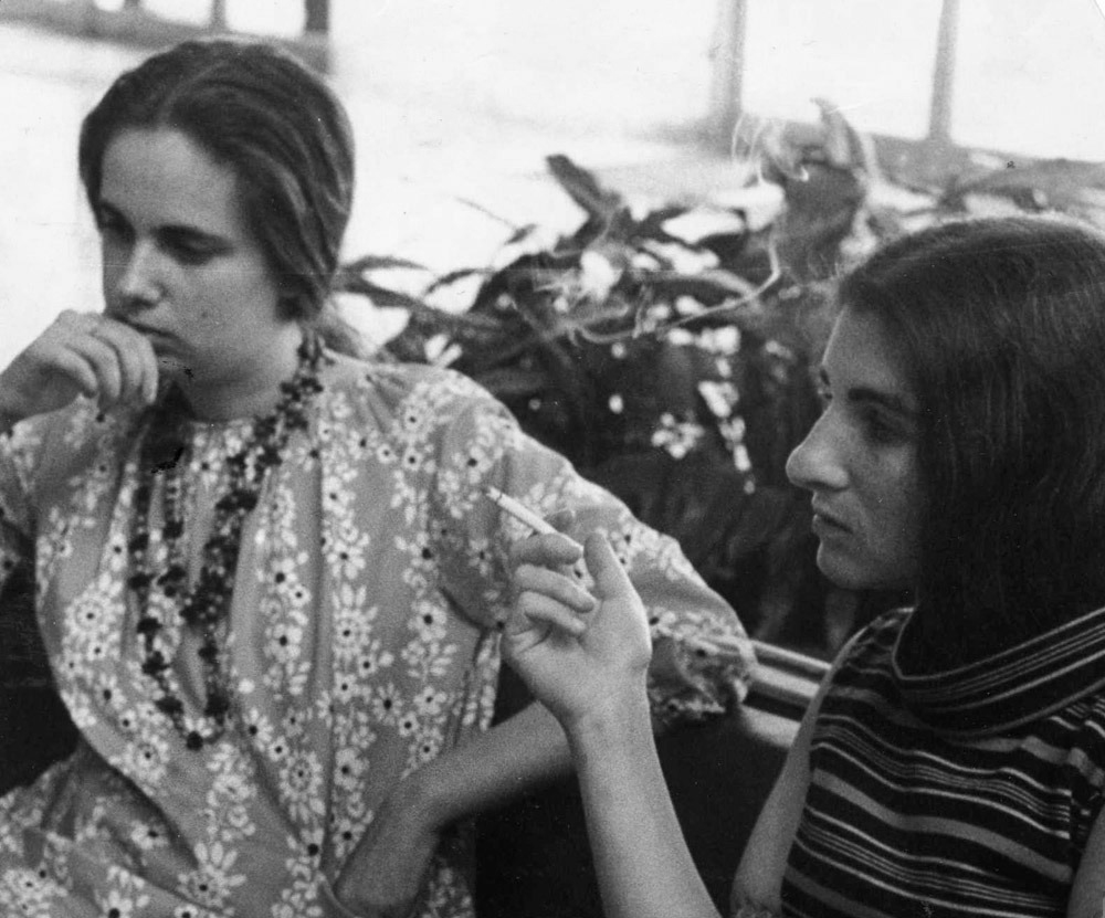 Susan Sherman and Margaret Randall (Havana, 1968)