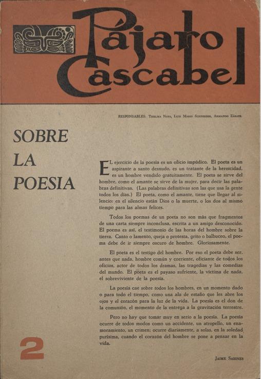 Pájaro Cascabel 2 [Cover]
